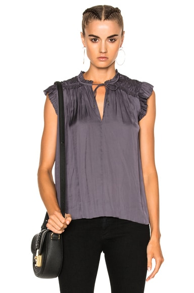 Ulla Johnson Ren Top in Midnight