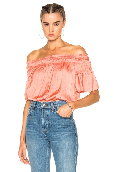 Ulla Johnson Yuri Top in Dahlia