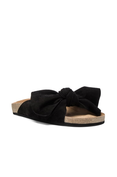 Suede Ingrid Slides