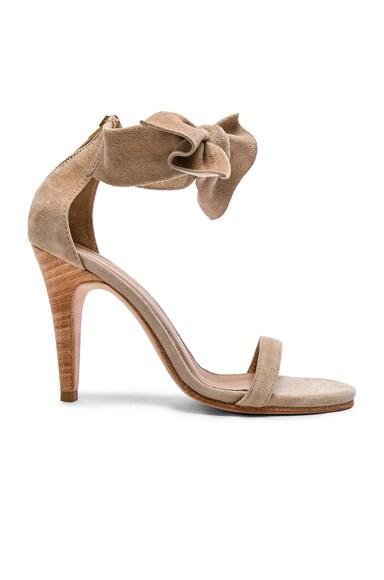 Suede Thecia Heels