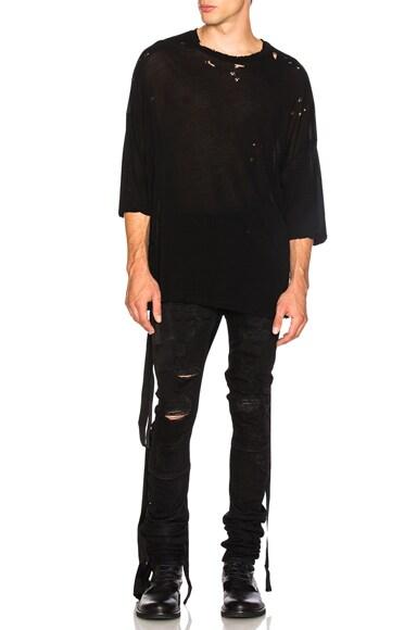 Denim Distort Parachute Jeans