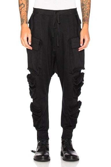 Terry Parachutes Cargo Pants