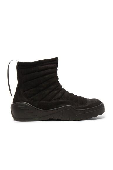 Suede High Top Sneakers