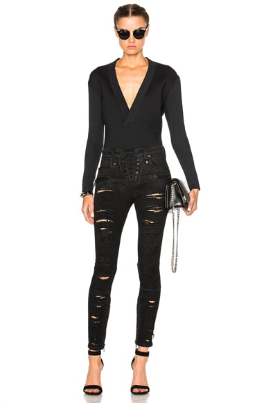 Scuba Elongated Sleeve Bodysuit