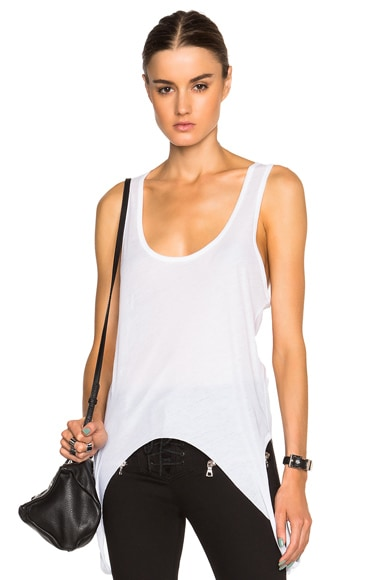 Unravel Double Tank in White