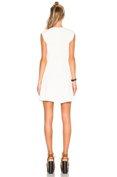 Cotton Rib Corset Mini Dress
