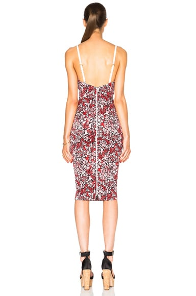 Piquet Stretch Cami Dress