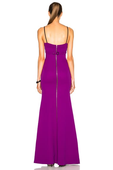 Double Crepe Camisole Gown