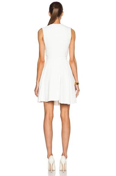 Asymmetric Drape Mini Dress