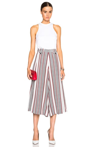 Houndstooth CDC Pleated Culottes
