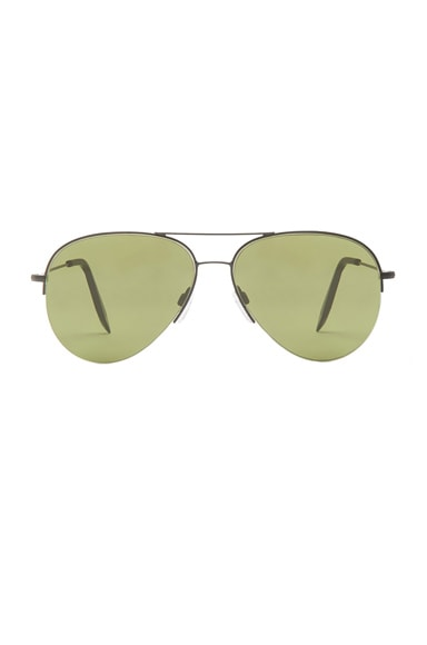 Victoria Beckham Petite Aviator in Evergreen