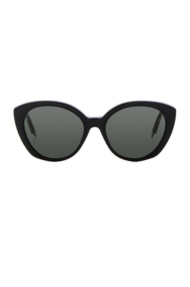 Victoria Beckham Acetate Kitten in Black