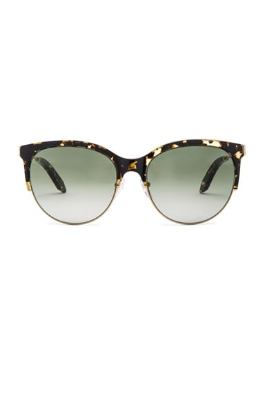 Victoria Beckham Layered Combination Kitten in Amber Tortoiseshell