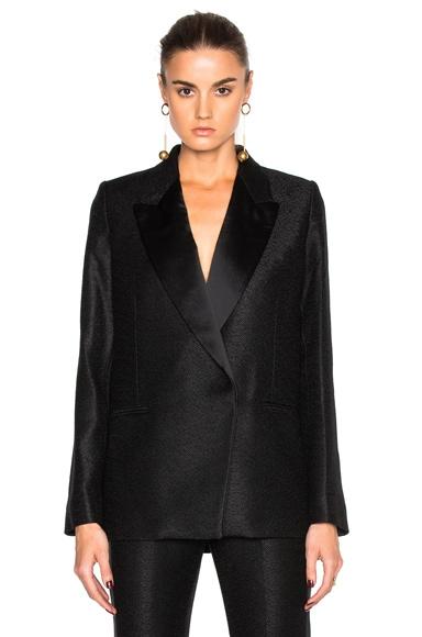 Victoria Beckham Tailored Tux Jacket in Black
