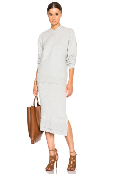Felted Lambswool Skirt
