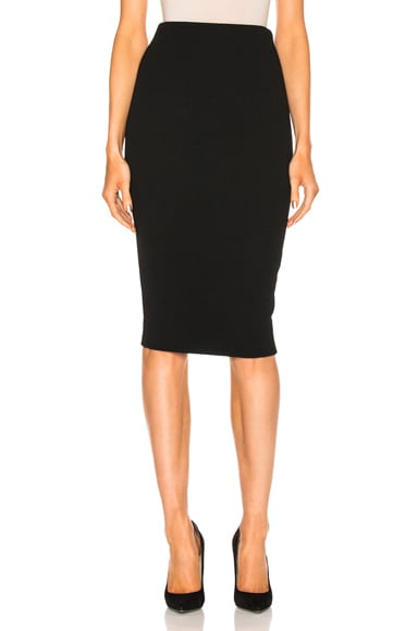 Victoria Beckham Pencil Skirt in Black