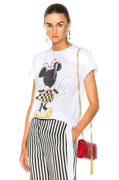 Cotton Jersey Minnie Mouse Tee