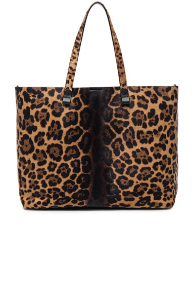 Victoria Beckham Simple Shopper in Leopard