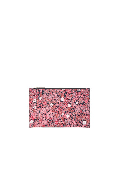 Victoria Beckham Small Simple Pouch in Floral