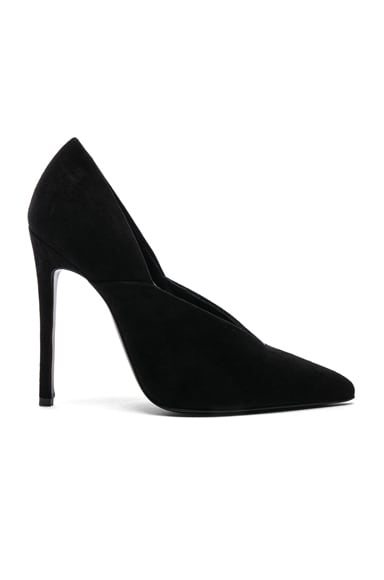 Suede Eva Pumps