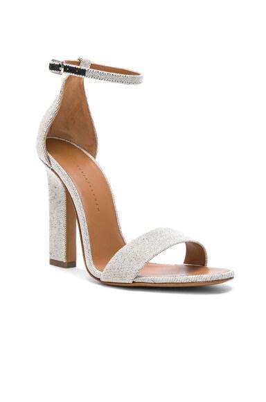 Canvas Anna Ankle Strap Sandals