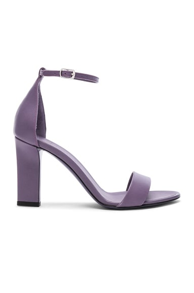 Leather Anna Ankle Strap Sandals