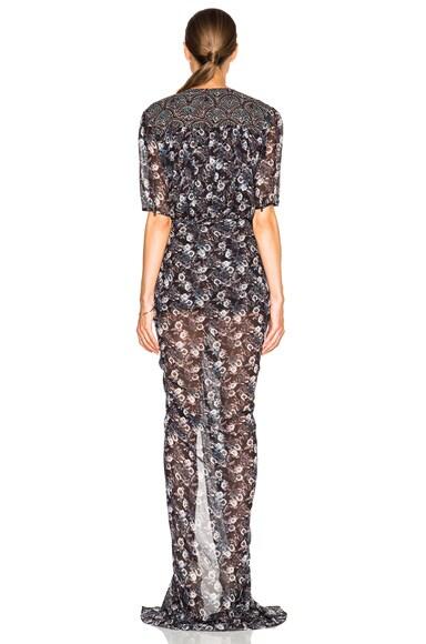 Dominga Drawstring Maxi Dress