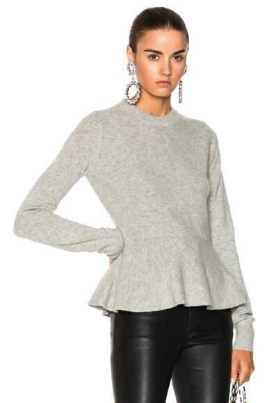 Raleigh Peplum Sweater