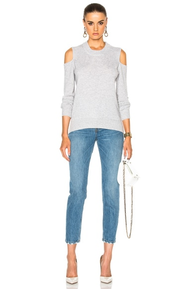 Central Cold Shoulder Sweater
