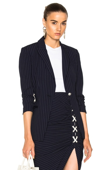 Taylor Lace Up Side Blazer
