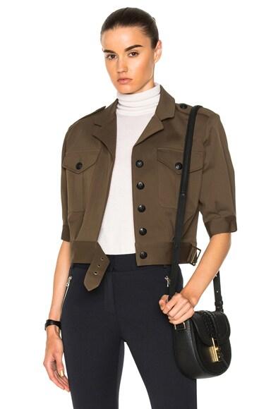 Fleet Short Sleeve Military Jacket