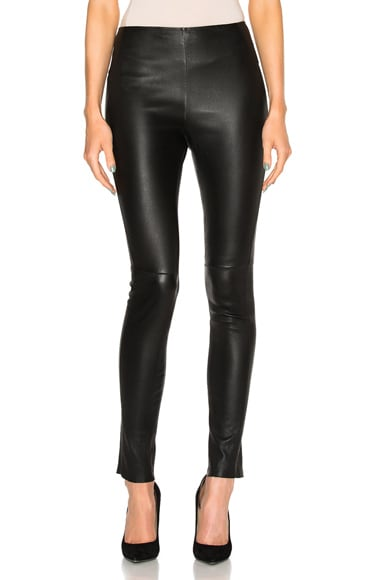 Palladium Leather Leggings