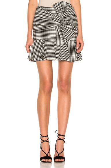 Picnic Bow Mini Skirt