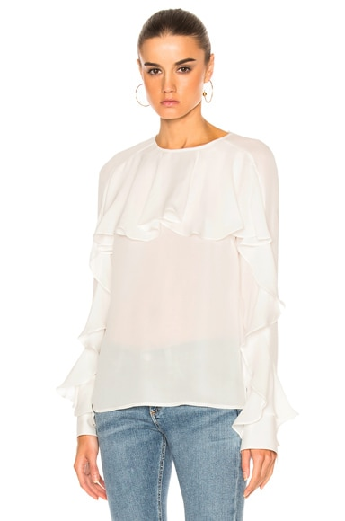 Mia Ruffle Blouse Top