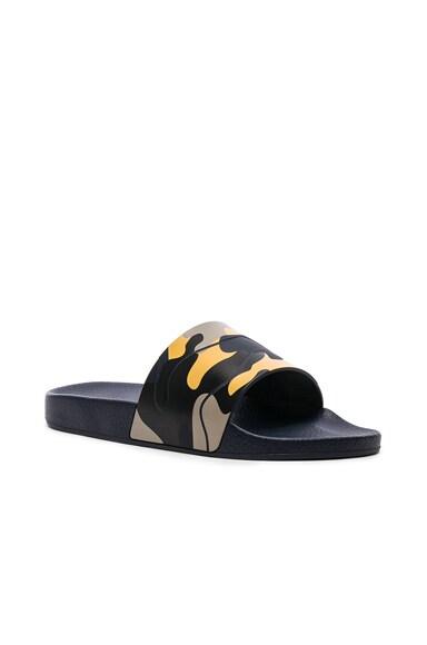 Camouflage Slide Sandals