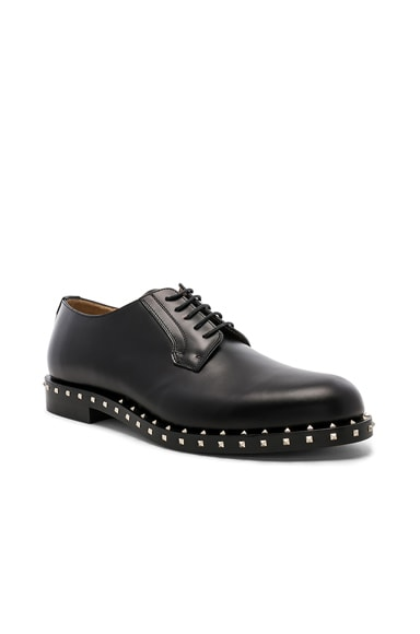 Studded Leather Derbies