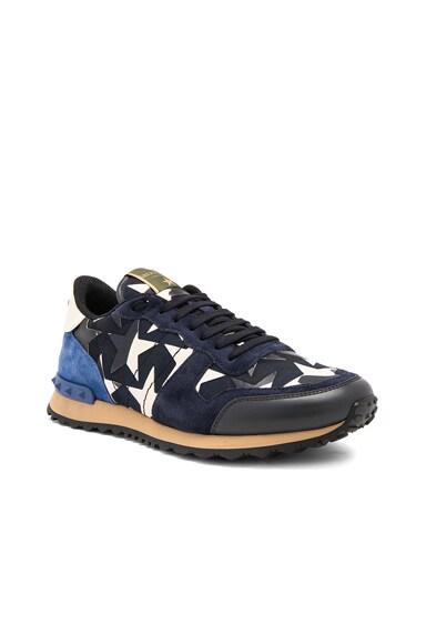 Rockstud Camouflage Sneakers