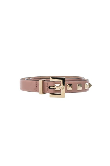 Rockstud Leather Belt Valentino