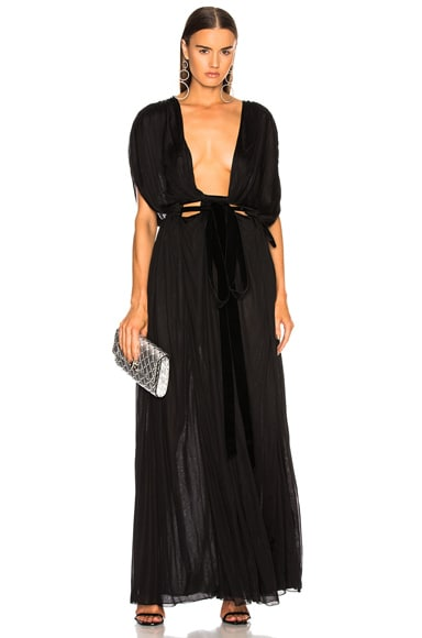 Plunging Gown