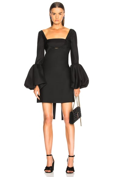 Off Shoulder Cutout Mini Dress