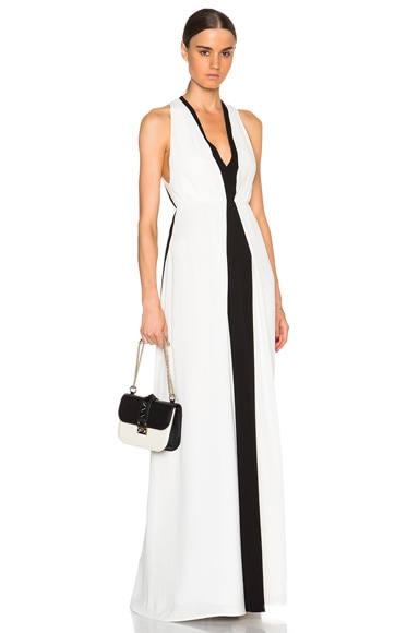 Valentino Gown in Black & Ivory