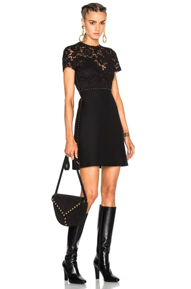 Lace Dress with Studs