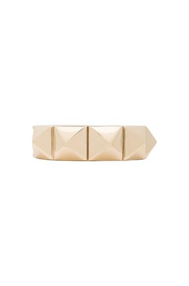 Oval Stud Brass Bracelet