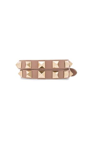 Rockstud Double Wrap Bracelet