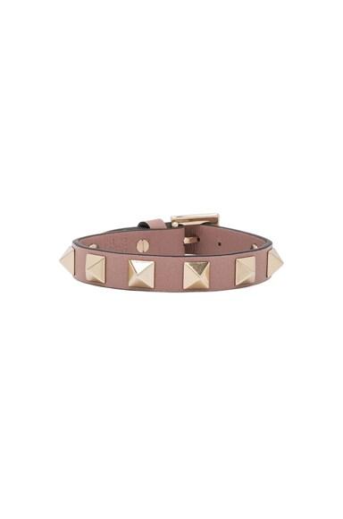 Valentino Rockstud Bracelet in Poudre