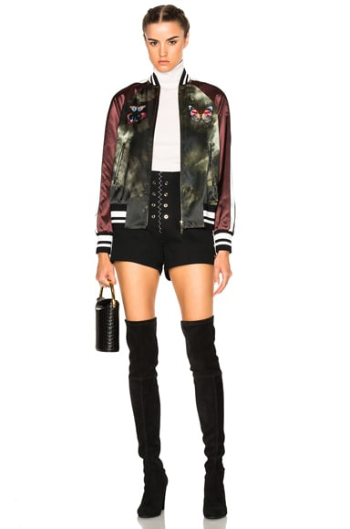 Butterfly Bomber Jacket