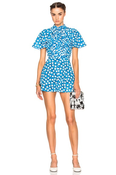 Valentino Star Printed Romper in Stampa Wonder