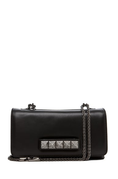 Va Va Voom Noir Small Flap Bag