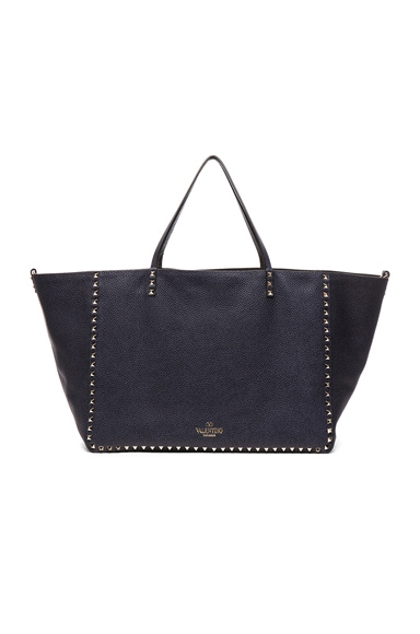 Large Reversible Rockstud Double Tote