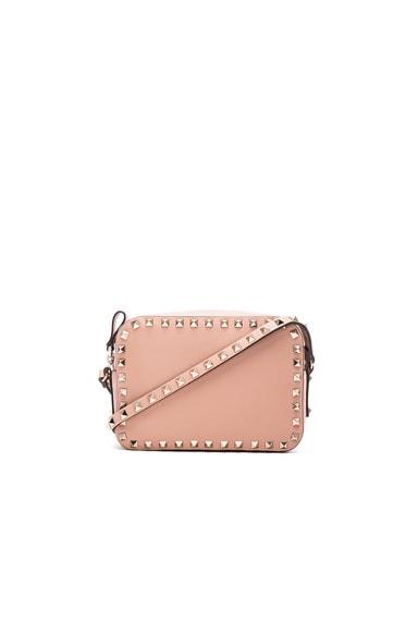 Valentino Rockstud Crossbody Bag in Skin Sorbet